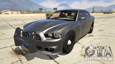 2012 Unmarked Dodge Charger для GTA 5