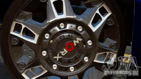 Chevrolet Cheyenne 2012 Dually для GTA San Andreas вид сзади слева
