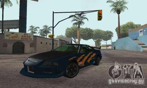 Nissan Skyline R34 Sunray (FlatOut 2) для GTA San Andreas