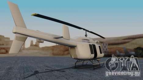 GTA 5 Buckingham Maverick для GTA San Andreas вид слева