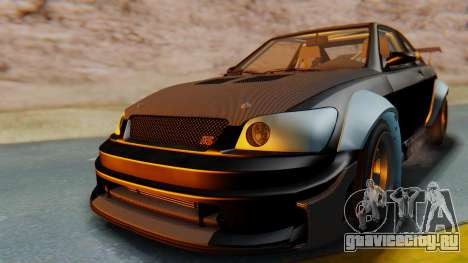 GTA 5 Karin Sultan RS Carbon IVF для GTA San Andreas вид справа