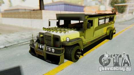 LGS Motors Eggtype Jeepney для GTA San Andreas