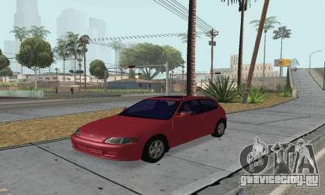 Honda Civic EG6 Tunable для GTA San Andreas