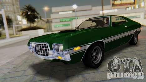 Ford Gran Torino Sport SportsRoof (63R) 1972 PJ1 для GTA San Andreas вид снизу