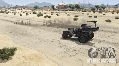 Mad Max The Gigahorse для GTA 5 вид справа