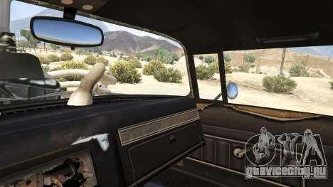 Mad Max The Gigahorse для GTA 5 руль и приборная панель