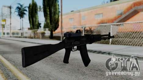 Arma OA AK74-100 для GTA San Andreas второй скриншот