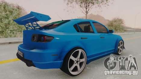 Mazda 3 Full Tuning для GTA San Andreas вид слева