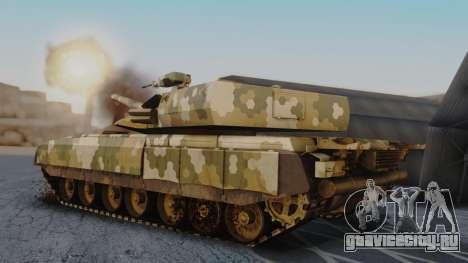 T-100 Varsuk для GTA San Andreas вид слева