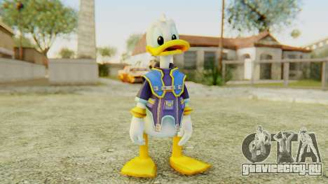 Kingdom Hearts 2 Donald Duck Default v2 для GTA San Andreas второй скриншот