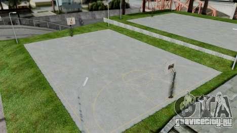 New Basketball Court для GTA San Andreas третий скриншот