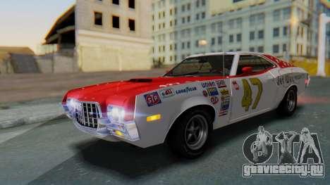 Ford Gran Torino Sport SportsRoof (63R) 1972 IVF для GTA San Andreas колёса