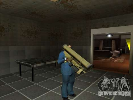 Набор русского оружия для GTA San Andreas