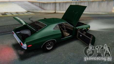 Ford Gran Torino Sport SportsRoof (63R) 1972 IVF для GTA San Andreas вид сверху