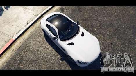 Mercedes-Benz AMG GT 2016 для GTA 5 вид сзади