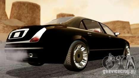 GTA 5 Enus Cognoscenti L для GTA San Andreas вид слева