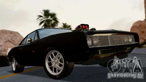 Dodge Charger from FnF4 для GTA San Andreas