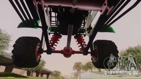 Mudmonster для GTA San Andreas вид изнутри