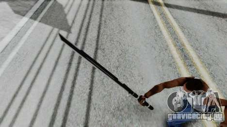 Deadpools Sword для GTA San Andreas третий скриншот
