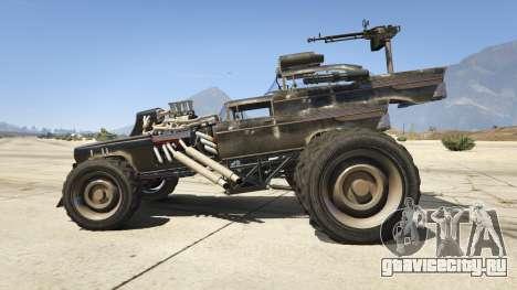 Mad Max The Gigahorse для GTA 5 вид слева