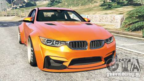 BMW M4 (F82) [LibertyWalk] v1.1 для GTA 5