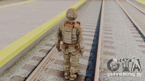 US Army Multicam Soldier from Alpha Protocol для GTA San Andreas третий скриншот