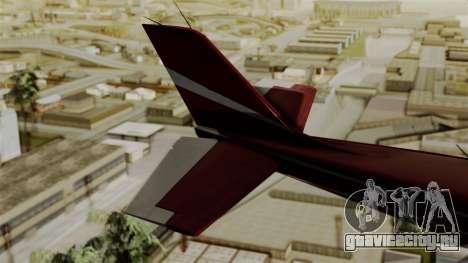 GTA 5 Jobuilt Mammatus для GTA San Andreas вид сзади слева