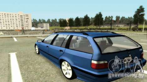 BMW 318i Wagon Touring Wagon для GTA San Andreas вид слева