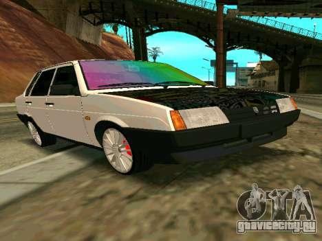 Ваз 21099 Gvr для GTA San Andreas