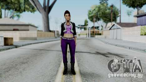 Shaundi from Saints Row для GTA San Andreas второй скриншот