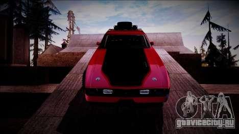 1971 Ford Mustang Rusty Rebel для GTA San Andreas вид изнутри
