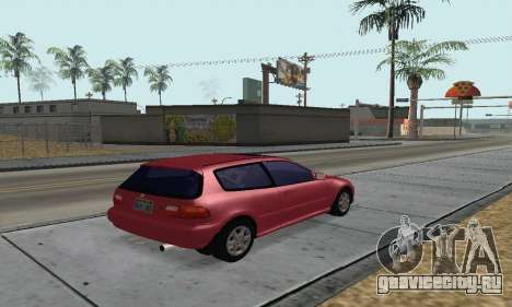 Honda Civic EG6 Tunable для GTA San Andreas вид слева