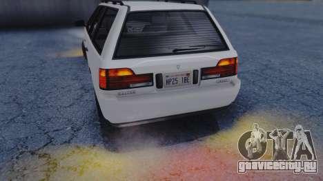 GTA 5 Vulcar Ingot IVF для GTA San Andreas вид сбоку