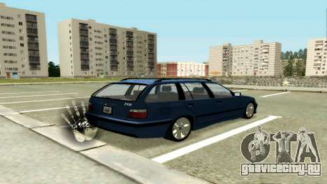 BMW 318i Wagon Touring Wagon для GTA San Andreas вид справа