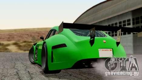 GTA 5 Bravado Verlierer Tuned для GTA San Andreas вид слева
