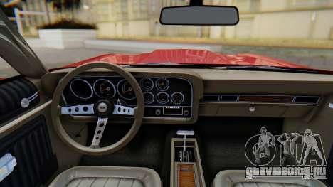 Ford Gran Torino Sport SportsRoof (63R) 1972 PJ1 для GTA San Andreas вид справа