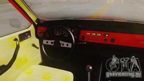 Renault 12 Toros v2 для GTA San Andreas вид сзади