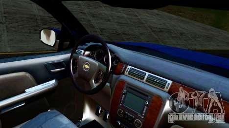 Chevrolet Cheyenne 2012 Dually для GTA San Andreas вид справа