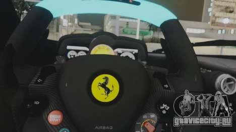 Ferrari LaFerrari TRON Edition v1.0 для GTA San Andreas вид сбоку