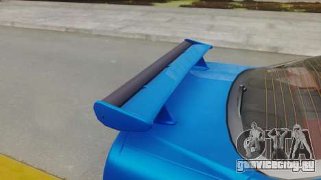 Nissan Skyline GT-R 2005 Z-Tune для GTA San Andreas вид сзади