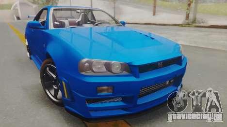 Nissan Skyline GT-R 2005 Z-Tune для GTA San Andreas