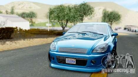 GTA 5 Declasse Premier для GTA San Andreas