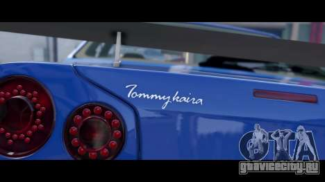 Nissan Skyline R34 Tommy Kaira для GTA 5 вид сзади