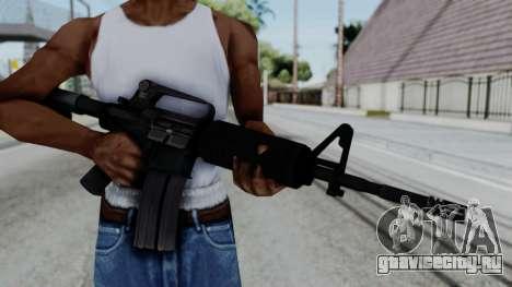 M16 A2 Carbine M727 v1 для GTA San Andreas третий скриншот