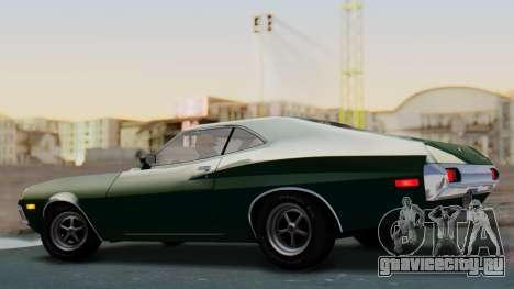 Ford Gran Torino Sport SportsRoof (63R) 1972 IVF для GTA San Andreas вид слева