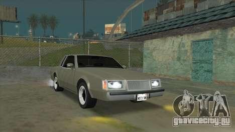 Willard Majestic для GTA San Andreas вид сзади