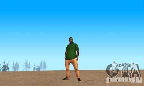 Скин-пак Grove от NeveR для GTA San Andreas второй скриншот