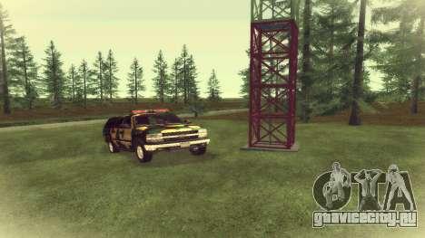 Chevrolet Suburban Сamouflage для GTA San Andreas