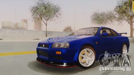 Nissan Skyline GT-R 2005 Z-Tune Nismo Prototype для GTA San Andreas