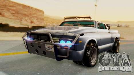 Slamvan v2.0 для GTA San Andreas